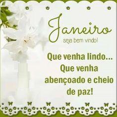 Bem vindo Janeiro!!!