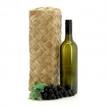 Pandanus Wine Box Single - Kiwiana - By Occasion - Products New Zealand Flax, Kiwiana, Floral Supplies, Hamper, Oceans, Wine Rack, Boxes, Canning, Gifts