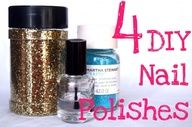 4 DIY Nail Polishes
