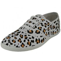 Wholesale Women's Leopard Printed Canvas Shoe - W6201 - 24 Pairs to Case - Only $6.75 Per Pair - Free Shipping
