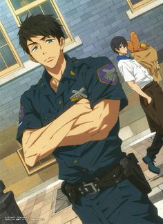 """Haru your face. """"Alright I wonder if I throw this bread right, it'll hit him... should I?"""""""