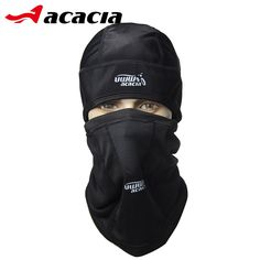 ACACIA UWW Bicycle Accessories Winter Fleece Bike Masks Collar Headscarf Bicicleta Outdoor Bicycle Black Warm Cycling Cap 0662 #Affiliate