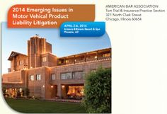 Attorney Todd Tracy will be speaking on ABA Motor Vehicle Products Liability Litigation Conference