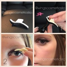 Winged Eyeliner In SECONDS With Our New Stamps