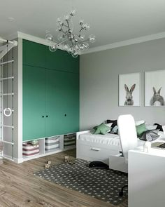 [New] The Best Home Decor (with Pictures) These are the 10 best home decor today. According to home decor experts, the 10 all-time best home decor. Boys Bedroom Wallpaper, Boys Bedroom Decor, Childrens Room Decor, Boy And Girl Shared Bedroom, Kids Room Paint, Baby Room Design, Green Rooms, Apartment Interior, Interior Design