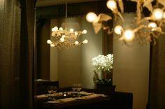 Tallinn: Restoran Ö Fusion Trotter Baltische Staten 2018 Estonian Food, Trotter, Restaurants, Chandelier, Ceiling Lights, Home Decor, Candelabra, Decoration Home, Room Decor