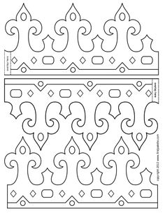 Royal Paper Crowns