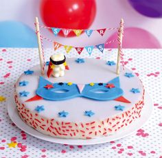 Mon gâteau super héro pour Kids gourmand