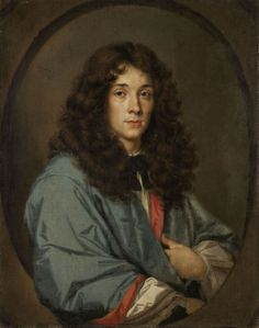 Portrait of a young man - French artist of the 17th century - Municipal Gallery Budapest