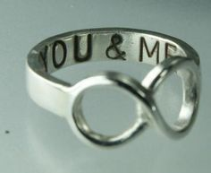 this is such a cute idea for a ring!