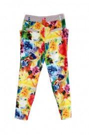 Printing Two-ways Style Pants  $48.99    romwe.com