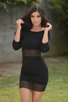 Meridian Dress - Black