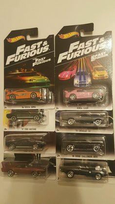 2016 Hot wheels Fast and Furious Set Honda s2000 Paul Walker | eBay