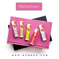 Malibu lip balms with SPF 30 - perfect for spring! Which 1 u got  in your MSM Select #SpringColour Box this month?