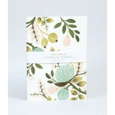 Love all products made at Rifle Paper design studio. Botanical Journal from Rifle Paper Co. Notebook Design, Cute Journals, Cute Notebooks, Spot Illustration, Illustrations, Posca Art, Rifle Paper Co, Pen And Paper, Journaling