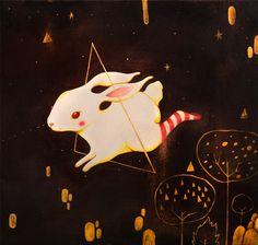 """Galactic Bunny"" by Violeta Hernández"