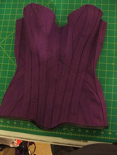 How to make a corset this could be very useful