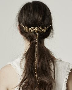 I've got to thank hairstylistextraordinaire Kristin Essfor introducing me to Lelet NY via Snapchat. Just when you think you've seen it all, designer Sara Bieler Sasson is raising the bar with her modern and refreshingtake onhair accessories. Halo-like headbands are distinctively three