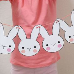 Make this cute Easter themed garland in 3 easy steps. Includes tips on resizing printable files.
