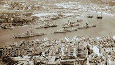 7th DD Sqn @ Silema, Malta Royal Navy HMS Scorpion HMS Jutland HMS Boardsword HMS Dunkrik