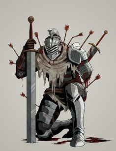 Fantasy Character Design, Character Concept, Character Art, Concept Art, Fantasy Armor, Medieval Fantasy, Dark Fantasy, Ornstein Dark Souls, Dungeons And Dragons Classes