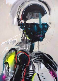 "Harte Kerle, zarte Farben: Gemälde von Mike Carr aka ""China Mike"" | Art Armada"