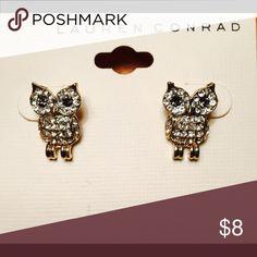 Owl Earrings- Lauren Conrad Brand New owl earrings! Jewelry Earrings