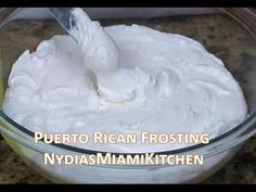 Puerto Rican Cake Frosting