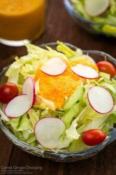 Carrot Ginger Dressing | Easy Japanese Recipes at JustOneCookbook.com #japaneserecipe