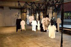 Fat t shirt exhibition.