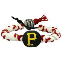 Pittsburgh Pirates Classic Frozen Rope Baseball Bracelet