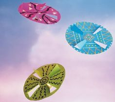 How To Make A Paper Flying Disc For Kids