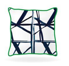 throw pillow ideas navy and white geometric pillow
