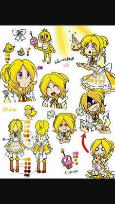 Anime Chica the Chicken