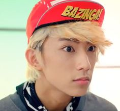 Gongchan's eyes are so BIG here ^_^