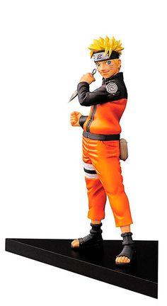 Figura Naruto, 15cm. DXF Shinobi Relations VOL 1. Naruto. Banpresto  Naruto se presenta en un exclusivo packaging con ventana, que el fabricante Banpresto lanza en su línea DXF Shinobi Relation. Con un cuidado pintado y en una posición de acción es una figura que gustará a todo fan de Naruto.