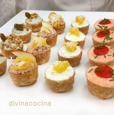 You searched for Queso crema aperitivo - Divina Cocina Catering, Fingers Food, Mini Foods, Appetisers, Appetizers For Party, Cooking Time, Love Food, Pasta Sable, Bakery