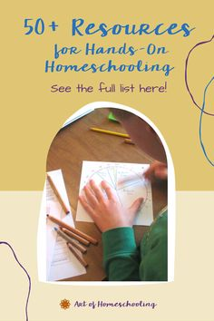 Are you looking for resources for hands-on homeschooling? This extensive list includes curriculum, supplies, organizations, and favorite book titles. A comprehensive list of over 50 resources put together by Jean, a mother of three and longtime homeschooler from Art of Homeschooling. Waldorf Curriculum, Kindergarten Curriculum, Curriculum Planning, Homeschool Curriculum, Homeschooling, Waldorf Education, Inspired Learning, Play Based Learning, Classroom Inspiration