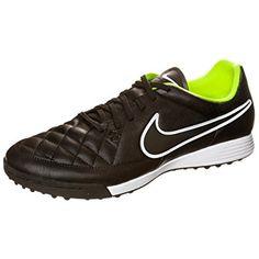 online store 2a7af 99613 Nike Men s Tiempo Genio Leather TF- (BLACK VOLT  BLACK) Review