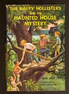 Vintage book The Happy Hollisters and the Haunted House Mystery  Selling on ebay