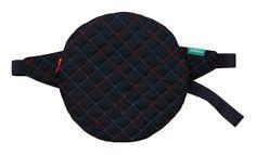 lukola handmade // Okrągła pikowana na biodro - zamówienie indywidualne // Quilted round waist bag - special order