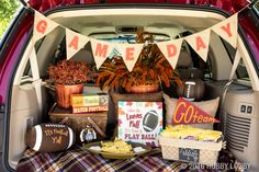 Get geared up for game day with a grab & go tailgate packed full of fall fun!