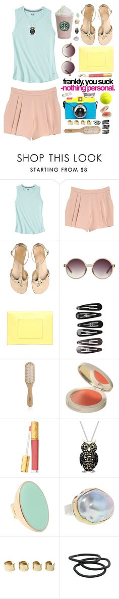 """""""мир : 05"""" by the-running-verb ❤ liked on Polyvore featuring C9 by Champion, Rebecca Taylor, Giuseppe Zanotti, Matthew Williamson, Proenza Schouler, Clips, Philip Kingsley, Topshop, Estée Lauder and Lord & Taylor"""