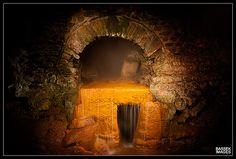 The drains of the Roman Baths, Bath    The original drainage system of the Roman Baths, Bath, Somerset, UK.