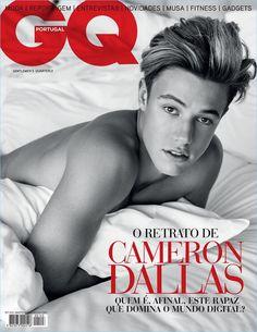 Branislav Simoncik photographs Cameron Dallas for the cover of GQ Portugal.