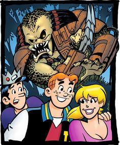 "#NYCC Alex de Campi Hunts Down Unlikely Prey in ""Archie Meets Predator"" #Comics @devilcomics"
