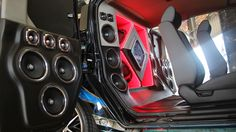 DB Drive Honda Element Demo Vehicle sporting DB Drive Pro Audio at the Border Bash in Mercedes, TX