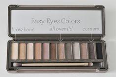 Naked 2 Palette : Easy Eyes Look