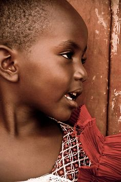Portrait in Red  (Kenya - David Lazar)