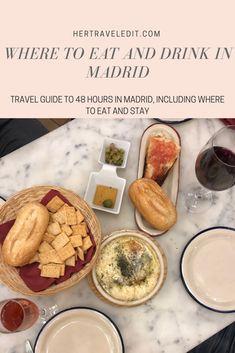 48 hours in Madrid, a totally underrated European beauty - Her Travel Edit Madrid Tapas, Madrid Nightlife, Madrid Food, Madrid Restaurants, Breakfast In Madrid, Best Breakfast, Madrid Travel, Best Coffee Shop, Best Places To Eat